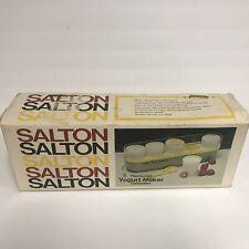 Salton Yogurt Maker GM-5 - Vintage Open Box Original Packaging
