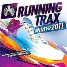 MINISTRY OF SOUND Running Trax Winter 2011 feat Calvin Harris, Justice Crew 3CD