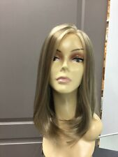 Bobbi Boss ESCARA ATHENA Long Lace Front Straight Synthetic Wig, 14/26A Blonde