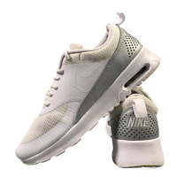 Nike Air Max Thea Women's Shoes Size Uk 5.5 White Grey Casual Trainers EUR 38.5