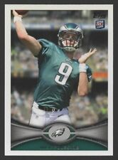 2012 TOPPS #186A NICK FOLES — ROOKIE CARD
