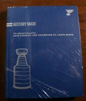 St. Louis Blues History Made Stanley Cup Champions Book Brand New NHL Hockey