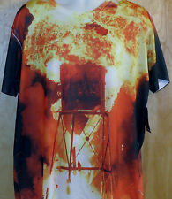 L.A. Tree House Club Explosion Print(Front/Back)Tee.(CROOKS LRG DIAMOND SUPREME)