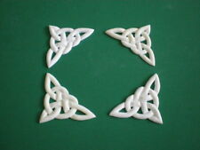 Decorative Resin Moulding - Traditional Classic -  Set of 4 Celtic Knot Corners