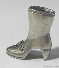 chocolate m&m ®  monopoly green boot metal token pewter mini game part