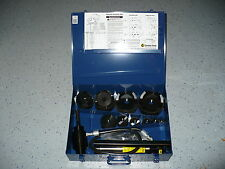 """CURRENT TOOL 154PM 1/2""""-4"""" KNOCKOUT SET   ( NEW )"""