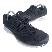 Saucony Ride ISO Womens Size 10.5 Black Athletic Running Walking Shoes Sneakers