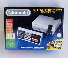 Nintendo Mini Nes Classic Console With 30 Games Brand New Sealed Discontinued
