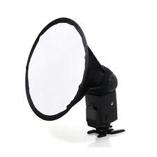 """8""""Cloth Round Mini Soft Flash Bounce Diffuser for Canon Nikon Sony Universal*"""