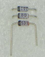 20 Stück  BB531  Kapazitätsdioden Kapazitätsdiode Varaktor - bedrahtet - VHF