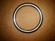 """Tandy Leather solid Rings Nickel Plated 2 1/2"""" in Nickel plated #1186-00"""