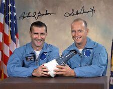 CHARLES CONRAD & RICHARD GORDON (Gemini 11) - Repro-Autogramm, 20x25cm, Großfoto