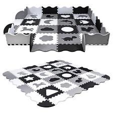 Spielteppich Puzzlematte Spielmatte Kinderteppich Nestchen Nest  mit Rand SK-33