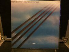 Ron Carter LP Super Strings VG++ Rare Promo Jazz/Soul