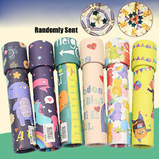 Cartoon 3D Kaleidoscope Imaginative Fancy Colorful Toy Children Gifts A+