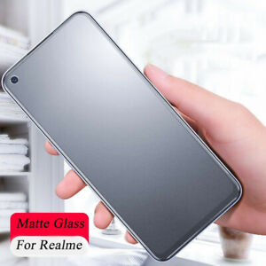 2PCS Matte Tempered Glass Screen Protector For OPPO Realme Q2 Q2i Q3 Pro Q3i Q3s
