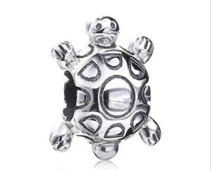 PANDORA Charm Sterling Silver ALE S925 TURTLE 790158 RETIRED