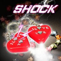New Electric Shock Heart KeyChain Toy Gadget Gag Joke Funny Prank Trick Novelty