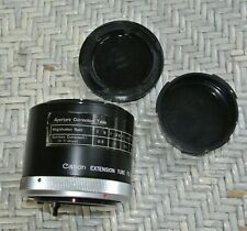 Vintage CANON EXTENSION TUBE FD 50 Japan Macro