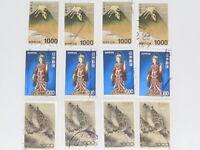 STAMP JAPAN 1000yen 12pc lot off paper high value philatelic collection mix 富士et