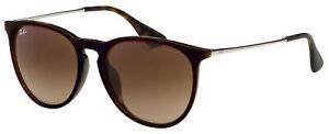 Ray-Ban Erika Alt Fit Sunglasses RB 4171F 631513 57  Blue On Brn| Brown Gradient