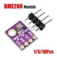[1-10Pcs] Breakout Temperature Humidity BME280 Barometric Pressure Sensor Module