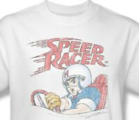 Speed Racer T-shirt retro 1980's Saturday Morning cartoon 100% cotton tee SPD100