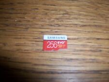 256GB Samsung EVO Plus Micro SD Card