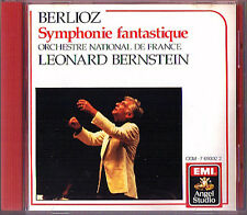 Leonard BERNSTEIN: BERLIOZ Symphonie Fantastique EMI 1987 USA CD