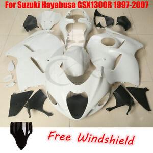 Unpainted Fairing Bodywork Kit For Suzuki Hayabusa GSX1300R 1997-2007 2008-2019