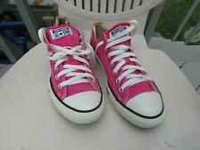 Converse Low Top All Stars Hot Pink Sneakers Mens Size 9 Womens 11