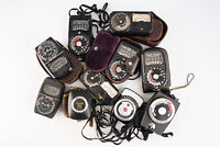 Lot of 10 Light Exposure Flash Meters GE Weston for PARTS OR REPAIR V10