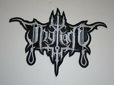 THY LIGHT DEPRESSIVE BLACK METAL EMBROIDERED BACK PATCH