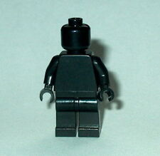 STATUE MINIFIG Lego Solid-Plain BLACK MiniFigure NEW Genuine Lego Monochrome