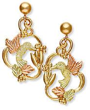 Landstrom's® 10K Black Hills Gold Hummingbird Earrings