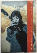 Beatles Paul McCartney Original VIP Concert Invitation Ticket Paris 13 Oct 1993