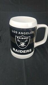 Vintage 1980's Los Angeles Raiders NFL PAPEL Coffee Mug Raiders