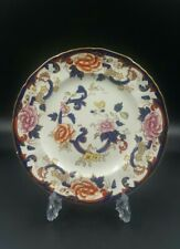 More details for mason's patent ironstone 'blue mandalay' fluted edge side plate-fair