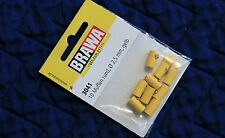 BRAWA 3041 Old Style Yellow Sockets for Marklin, 2,5 mm, 10 pk, New Ships Fast