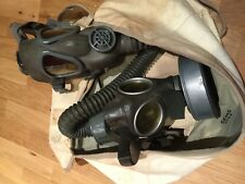 LOT OF 3 - WW2 1944 US ARMY PARATROOPER JUMP BAG WITH GERMAN AND USA GAS MASKS