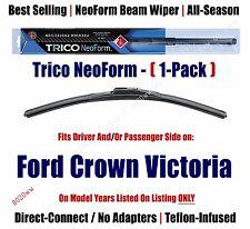 Super Premium NeoForm Wiper Blade Qty 1 fits 1992-2011 Ford Crown Victoria 16220