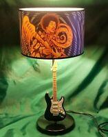 Rabbit Tanaka Purple Haze Jimi Hendrix Stratocaster Guitar Lamp