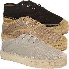 Zapatillas deportivas de mujer negro textiles