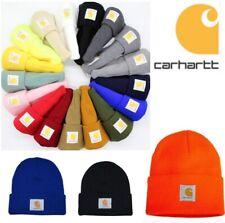 UK Carhartt Acrylic Watch Beanie A18 Rib Knit Men's Stocking Cap Warm Winter Hat