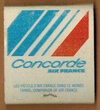Pochette D'Allumettes - Concorde - Les Hotels d'Air France - Méridien
