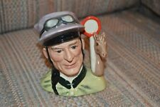 """Doulton Character Jug Jockey D6877 Pristine 1st Qual Signed by M. Doulton 4"""""""