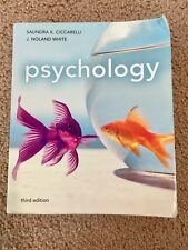ISBN: 9780205011353. Psychology by Saundra K. Ciccarelli and J. Noland White