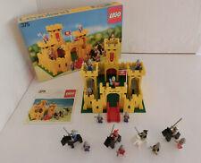 (GO1) LEGO 375 GELBE RITTERBURG MIT OVP & BA 100% KOMPLETT GEBRAUCHT RAR