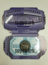 Exclusive Coin for Takara Transformers Masterpiece Mp-29 Shockwave Laserwave
