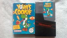 Yoshi's Cookie Nintendo NES PAL BOXED GC RARE RETRO FAST POST PUZZLE GAME RETRO